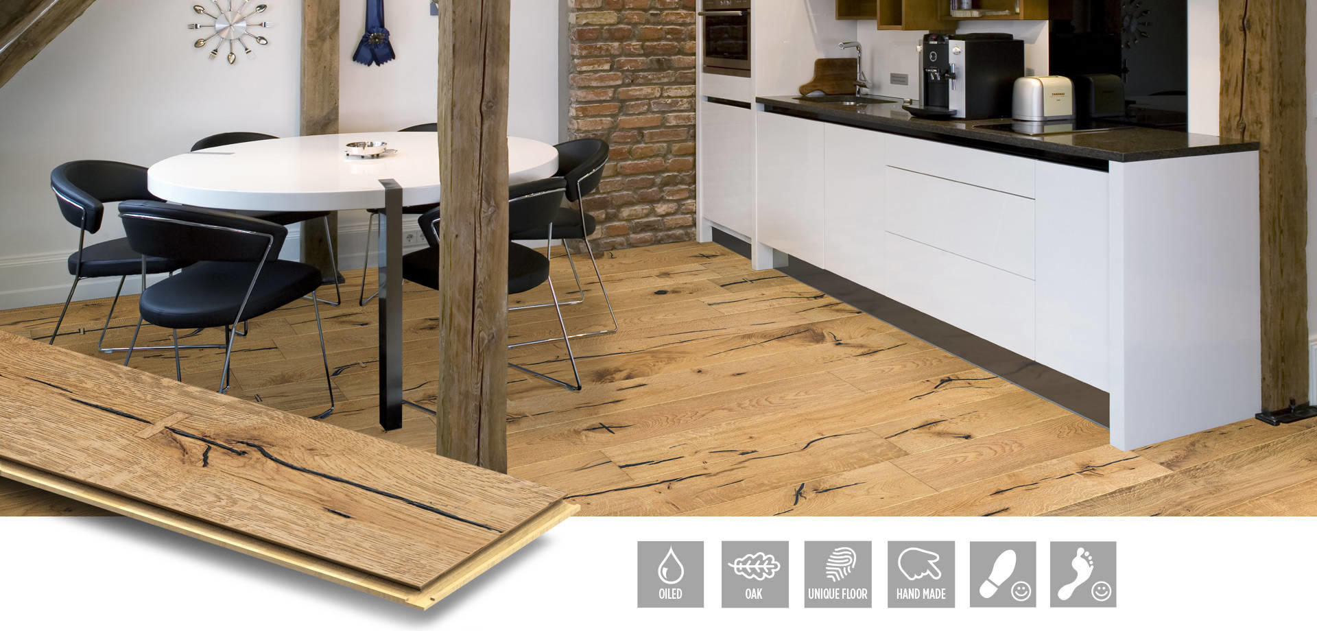 Oak Crown - exklusivt parkettgolv från NQD Floors